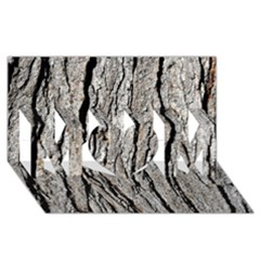 TREE BARK MOM 3D Greeting Card (8x4)