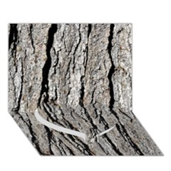 TREE BARK Heart Bottom 3D Greeting Card (7x5)