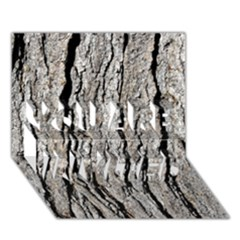 TREE BARK YOU ARE INVITED 3D Greeting Card (7x5)