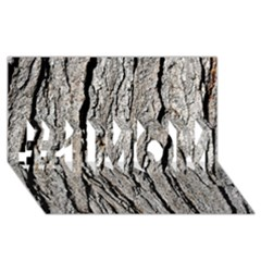 TREE BARK #1 MOM 3D Greeting Cards (8x4)