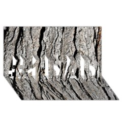 Tree Bark #1 Dad 3d Greeting Card (8x4)