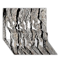 TREE BARK You Did It 3D Greeting Card (7x5)