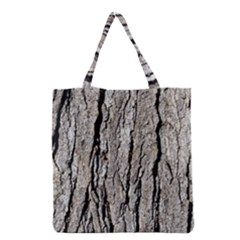 TREE BARK Grocery Tote Bags