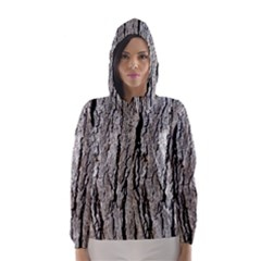TREE BARK Hooded Wind Breaker (Women)