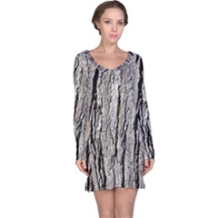 TREE BARK Long Sleeve Nightdresses
