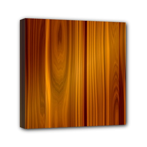 Shiny Striated Panel Mini Canvas 6  X 6