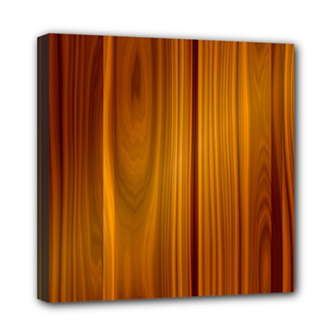 Shiny Striated Panel Mini Canvas 8  X 8
