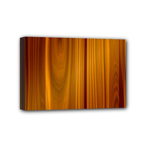 Shiny Striated Panel Mini Canvas 6  X 4