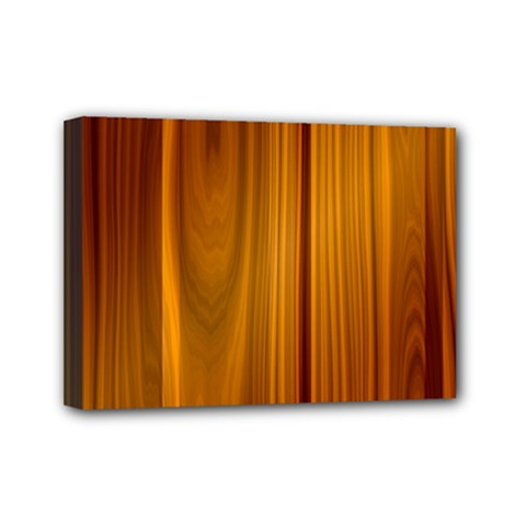 Shiny Striated Panel Mini Canvas 7  X 5