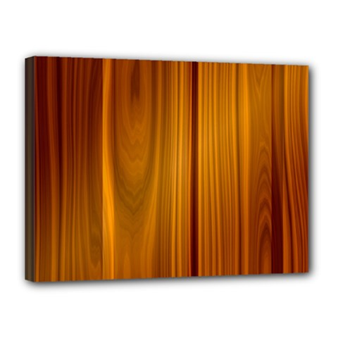 Shiny Striated Panel Canvas 16  X 12