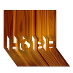 SHINY STRIATED PANEL HOPE 3D Greeting Card (7x5)