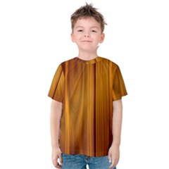 SHINY STRIATED PANEL Kid s Cotton Tee