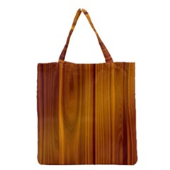 SHINY STRIATED PANEL Grocery Tote Bags