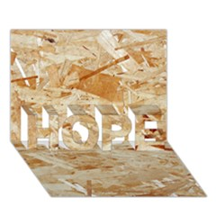 OSB PLYWOOD HOPE 3D Greeting Card (7x5)