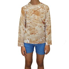 OSB PLYWOOD Kid s Long Sleeve Swimwear