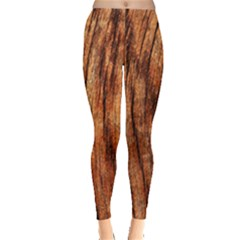 OLD BROWN WEATHERED WOOD Women s Leggings