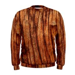 OLD BROWN WEATHERED WOOD Men s Sweatshirts
