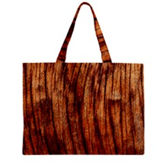 Old Brown Weathered Wood Zipper Tiny Tote Bags