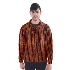 Old Brown Weathered Wood Wind Breaker (men)