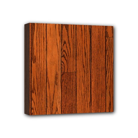 Oak Planks Mini Canvas 4  X 4