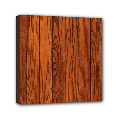 Oak Planks Mini Canvas 6  X 6