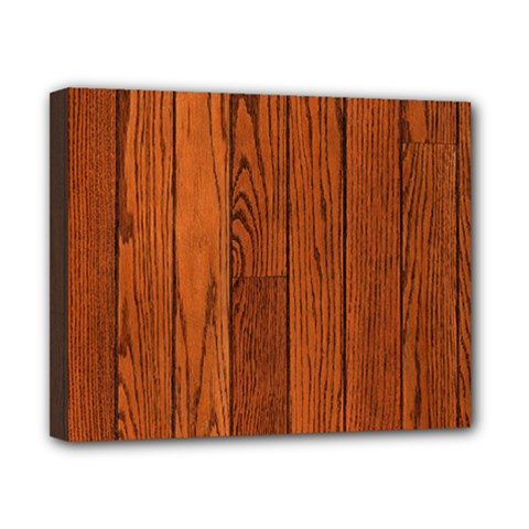 Oak Planks Canvas 10  X 8