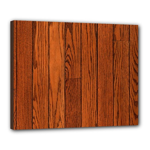 Oak Planks Canvas 20  X 16