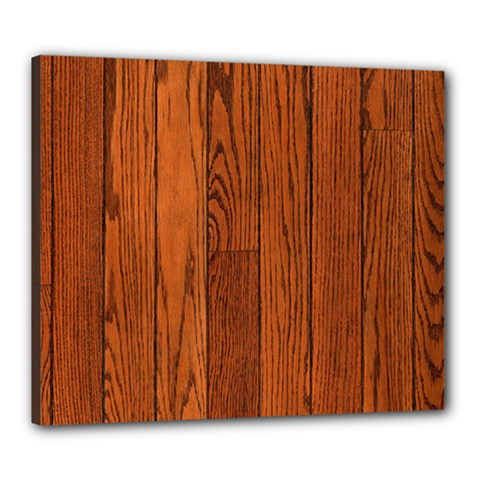 Oak Planks Canvas 24  X 20