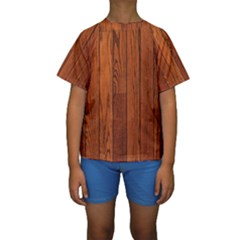 OAK PLANKS Kid s Short Sleeve Swimwear