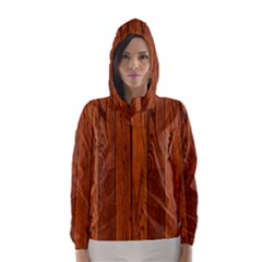 OAK PLANKS Hooded Wind Breaker (Women)