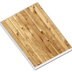 Light Wood Fence Large Memo Pads