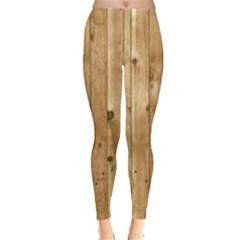 LIGHT WOOD FENCE Women s Leggings