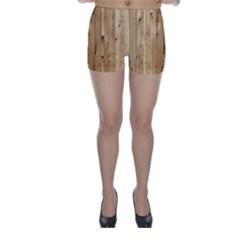 LIGHT WOOD FENCE Skinny Shorts
