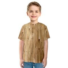 LIGHT WOOD FENCE Kid s Sport Mesh Tees
