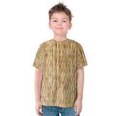 Light Beige Bamboo Kid s Cotton Tee