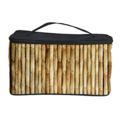 LIGHT BEIGE BAMBOO Cosmetic Storage Cases