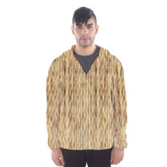 Light Beige Bamboo Hooded Wind Breaker (men)