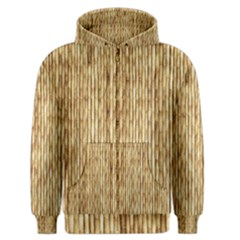 LIGHT BEIGE BAMBOO Men s Zipper Hoodies