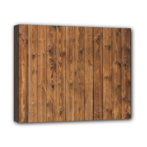 Knotty Wood Canvas 10  X 8