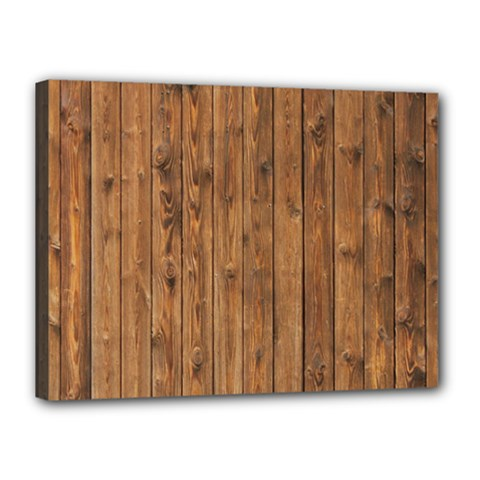 Knotty Wood Canvas 16  X 12