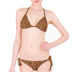 Knotty Wood Bikini Set