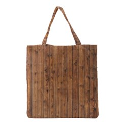 KNOTTY WOOD Grocery Tote Bags