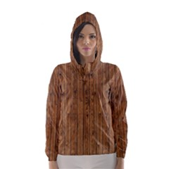 KNOTTY WOOD Hooded Wind Breaker (Women)