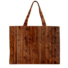 Knotty Wood Zipper Tiny Tote Bags
