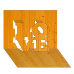 Honey Maple Love 3d Greeting Card (7x5)