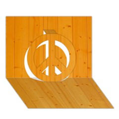 HONEY MAPLE Peace Sign 3D Greeting Card (7x5)