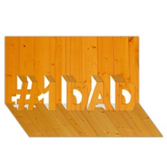 HONEY MAPLE #1 DAD 3D Greeting Card (8x4)