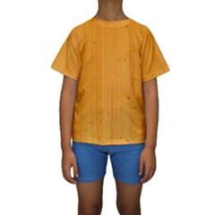 HONEY MAPLE Kid s Short Sleeve Swimwear