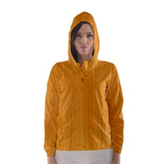 HONEY MAPLE Hooded Wind Breaker (Women)
