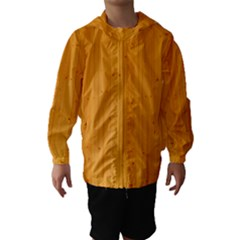 Honey Maple Hooded Wind Breaker (kids)